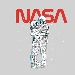 NASA Imagine Love Is In The Air Astronauts Floating in the Space T-Shirt