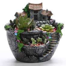 Load image into Gallery viewer, Succulent Resin Flower Pot - Seasons Forever