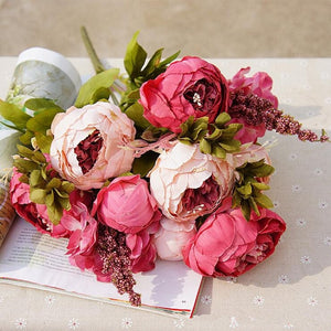 European Artificial Peony Flowers - Seasons Forever