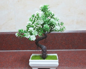 Artificial Bonsai Tree with Vase - Seasons Forever