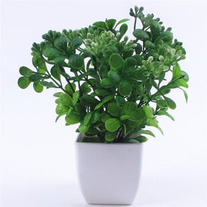 Pearl Fruit Bonsai Artificial Plant with Vase - Seasons Forever