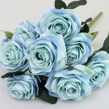 Load image into Gallery viewer, Artificial Silk 1 Bunch French Rose Floral Bouquet - Seasons Forever