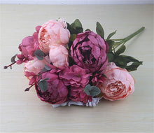 Load image into Gallery viewer, European Artificial Peony Flowers - Seasons Forever