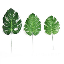 Load image into Gallery viewer, 10pcs Monstera Palm Tropical Plant Leaves - Seasons Forever