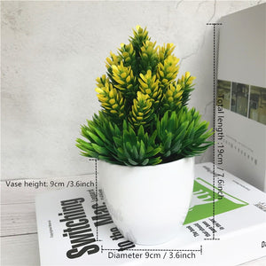 Artificial Potted Flowers - Seasons Forever
