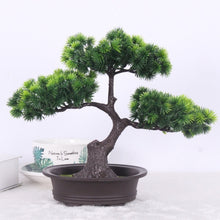 Load image into Gallery viewer, Bonsai Pine Artificial Potted Plant Indoor Decoration - Seasons Forever