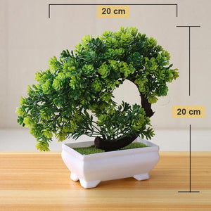 Bonsai Small Artificial Tree Pot Plants - Seasons Forever