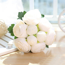 Load image into Gallery viewer, Artificial Bride Rose Bouquet Decorative Silk Flowers - Seasons Forever