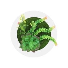Load image into Gallery viewer, 3D Circular Simulation Succulent Wall-Mounted Artificial Plant - Seasons Forever