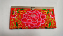 Load image into Gallery viewer, Beautiful Embroidered One-of-a-Kind Clutches/Wallet - Seasons Forever