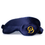 LUXURY ROYAL BLUE SILK SLEEP MASK