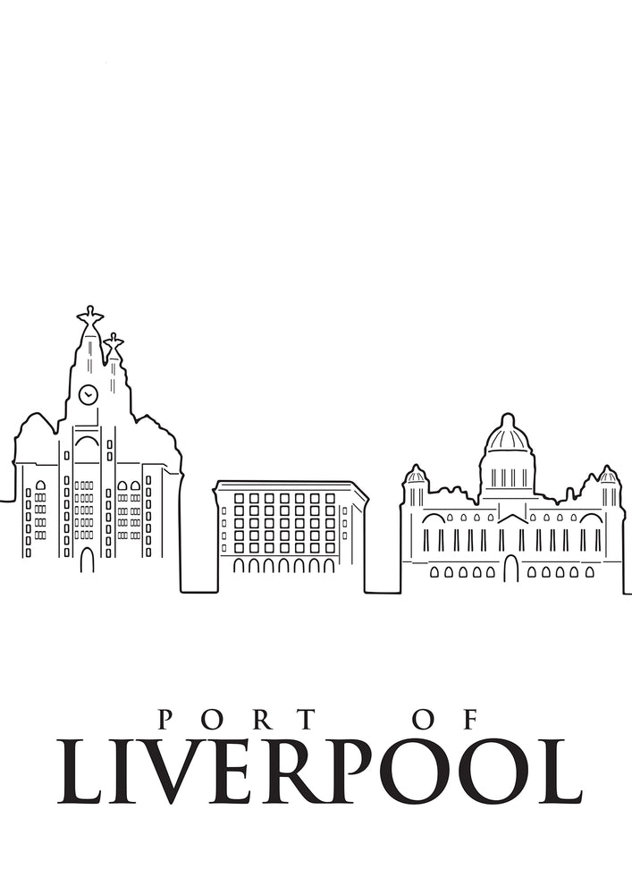 PORT OF LIVERPOOL PRINT