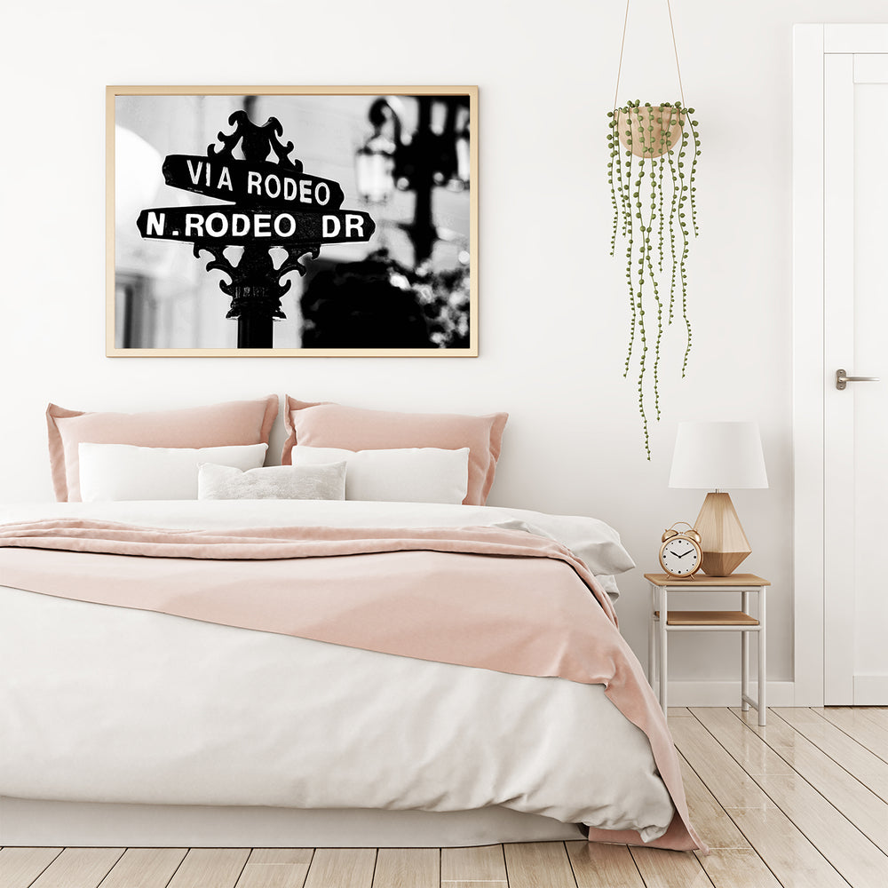 RODEO DRIVE SIGN PRINT