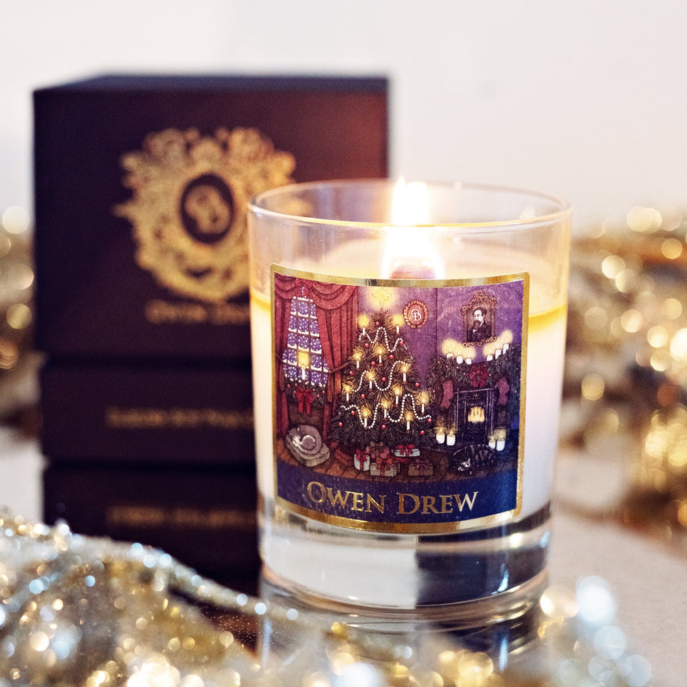 LIMITED EDITION: HOME FOR CHRISTMAS CANDLE