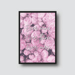 """EVER THINE, EVER THINE"" QUOTE PRINT"