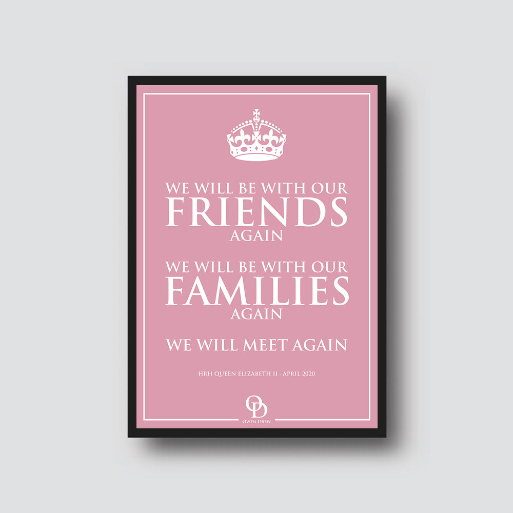 "LIMITED EDITION ""WE'LL MEET AGAIN"" PRINT"