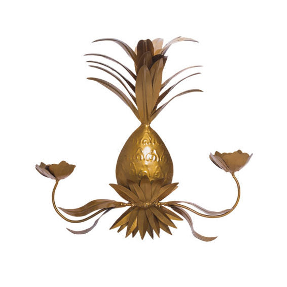 Kim Soo Pineapple Wall Sconce