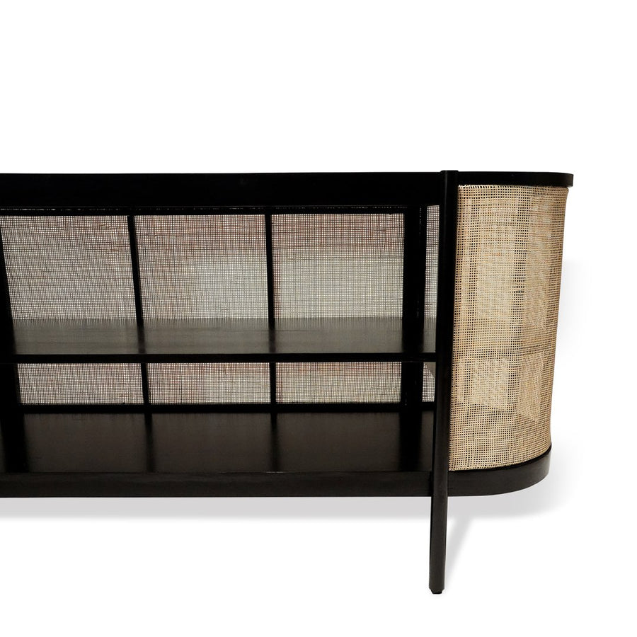 Tissé Sideboard Black & Beach