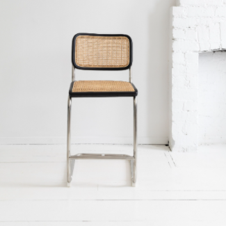 Breuer Barstool Rendition - Black and Bleach