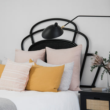 Cinta Headboard Black