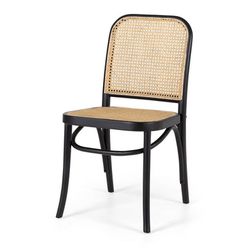 Theo Chair - Black and Oak