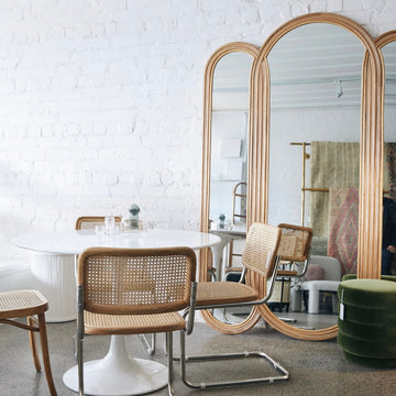 Florence Floor Mirror - Natural