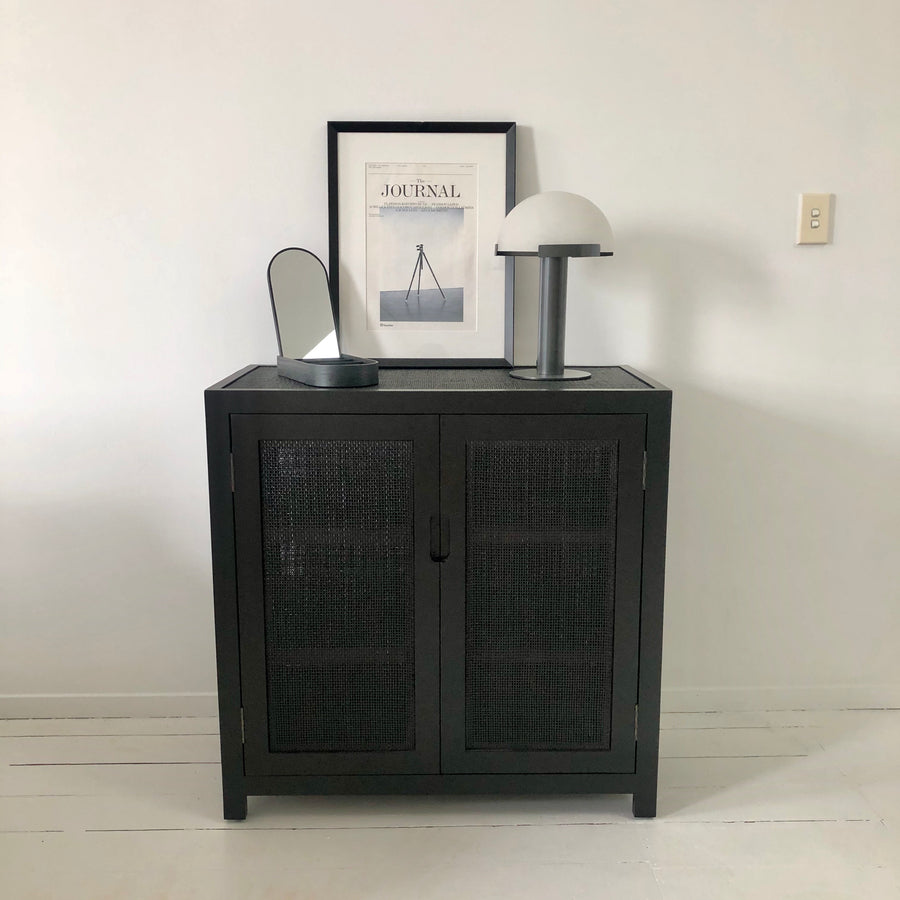 Tissé Cabinet Small Black