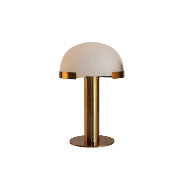 Alabaster Table Lamp Bronze