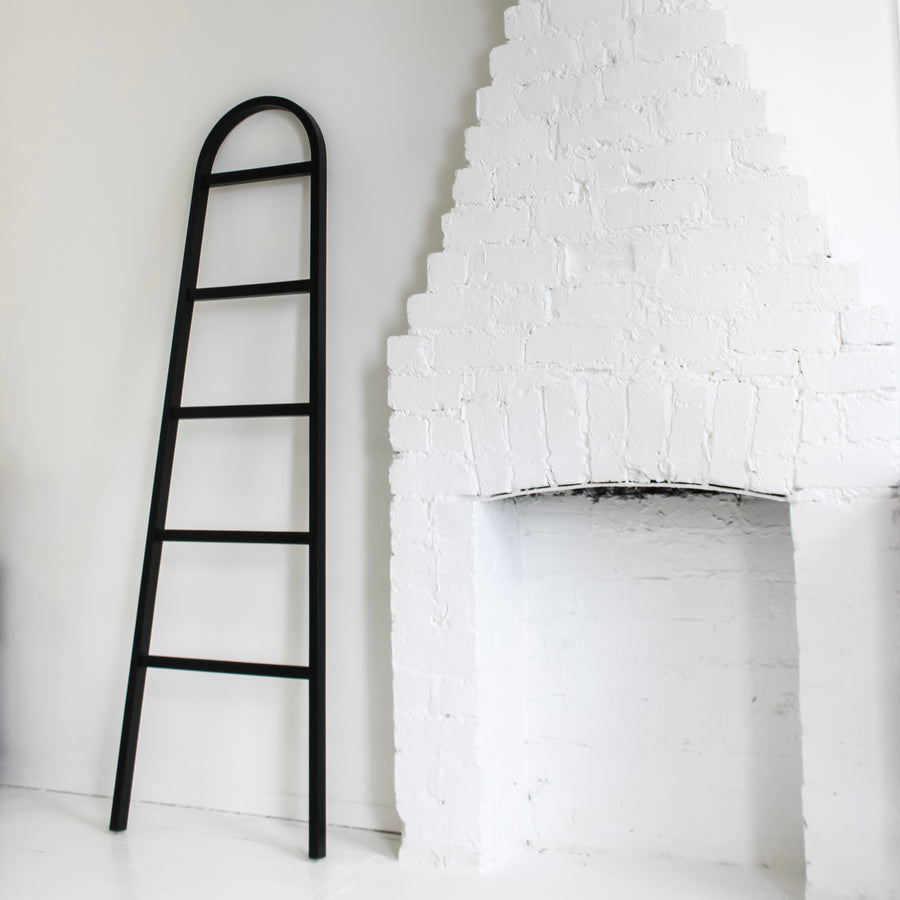 Tilly Towel Ladder Black
