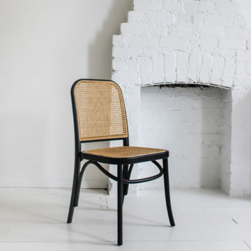 Theo Chair - Black and Oak - June Arrival