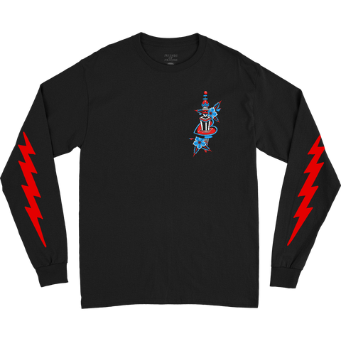 FOF X VOTE BLACK LONGSLEEVE