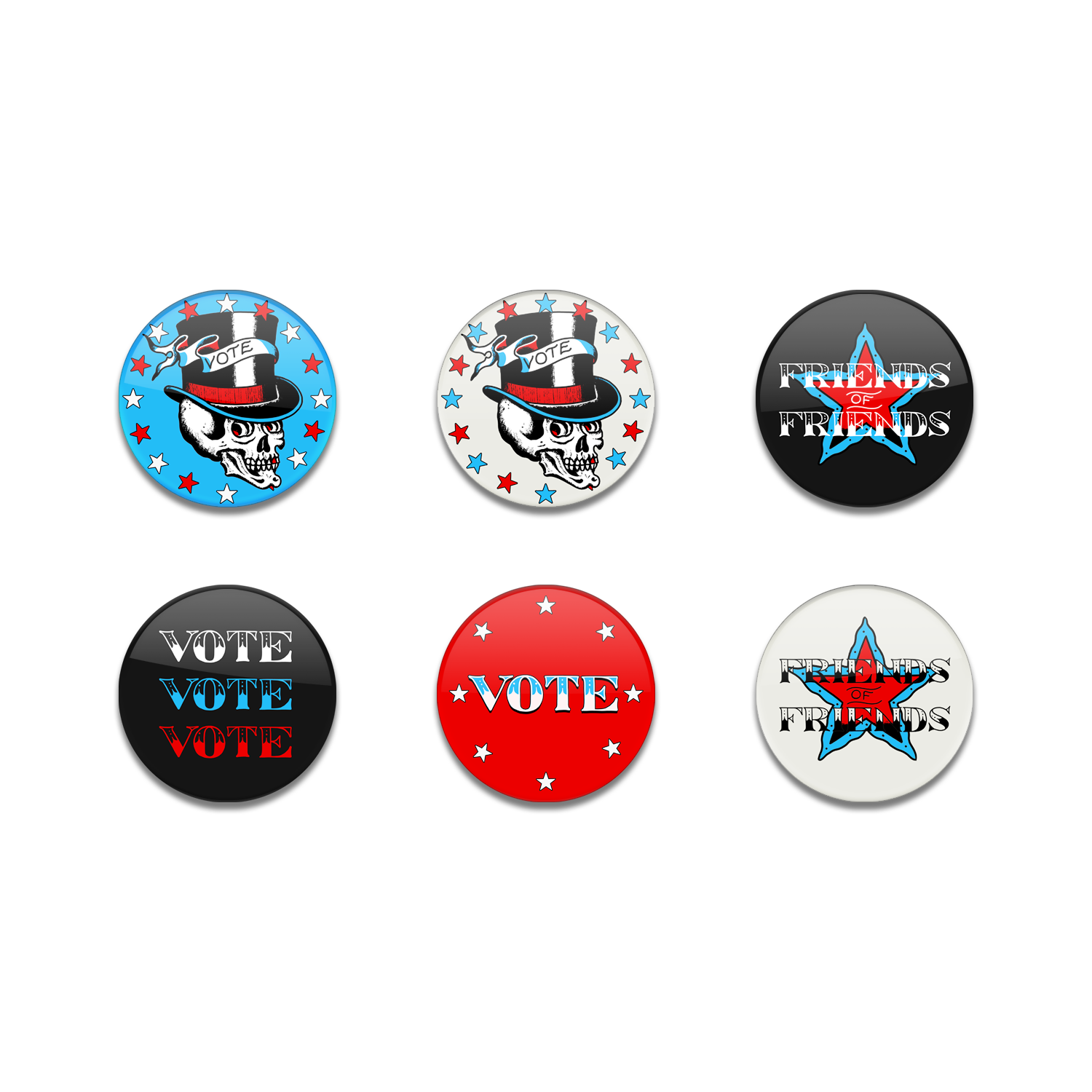 FOF X VOTE PIN SET