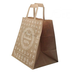 250 100% recycled paper bags - PACKAWIN