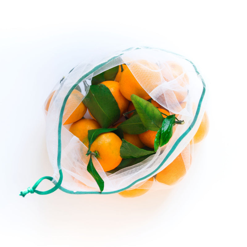 Set of 4 mesh bags for fruit and vegetables