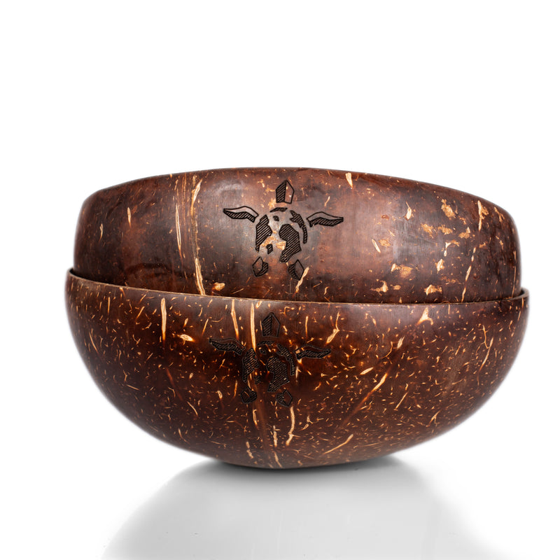 Natural coconut shell bowl - PACKAWIN