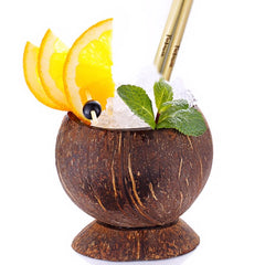Copa cocktail de coco
