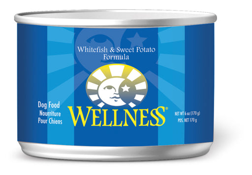 Wellness Complete Health Natural Whitefish and Sweet Potato Recipe Wet Canned Dog Food