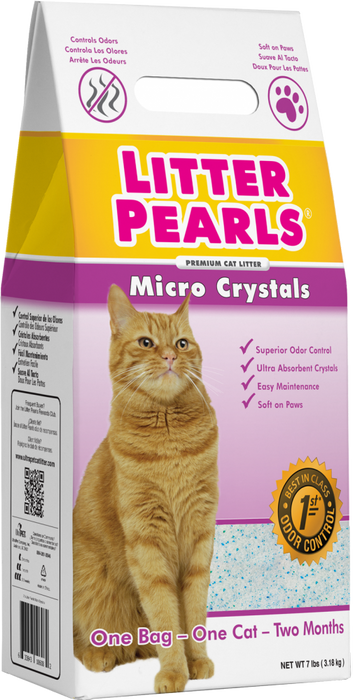 Ultra Pet Litter Pearls Micro Crystal Cat Litter