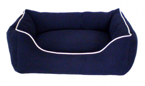Dog Gone Smart Navy Lounger Dog Bed