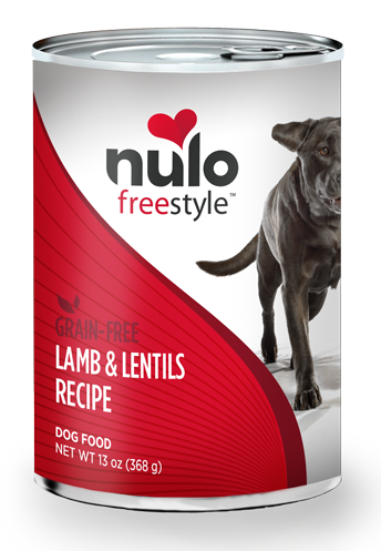 Nulo FreeStyle Grain Free Lamb and Lentils Recipe Canned Dog Food