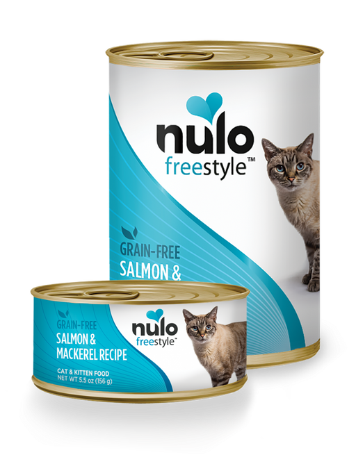 Nulo FreeStyle Grain Free Salmon and Mackerel Recipe Canned Kitten & Cat Food