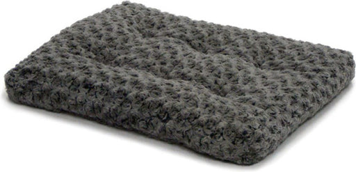 MidWest Quiet Time Ombre Swirl Gray Pet Bed
