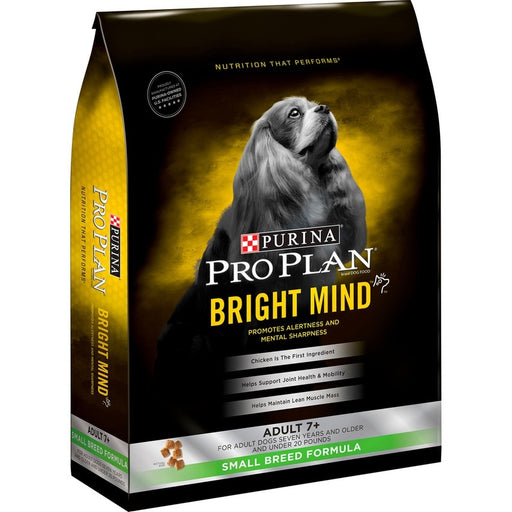 Purina Pro Plan Bright Mind Adult 7+ Small Breed Fromula Dry Dog Food