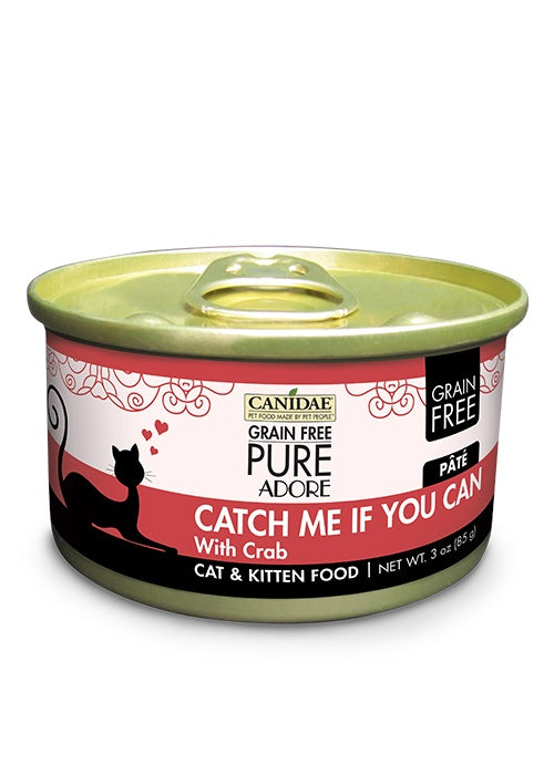 Canidae Grain Free PURE Adore: Catch Me If You Can with Crab Canned Cat Food