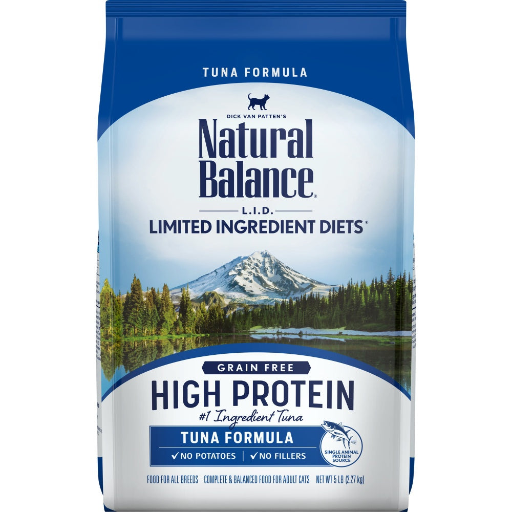 Natural Balance L.I.D. Limited Ingredient Diets High Protein Tuna Recipe Dry Cat Food