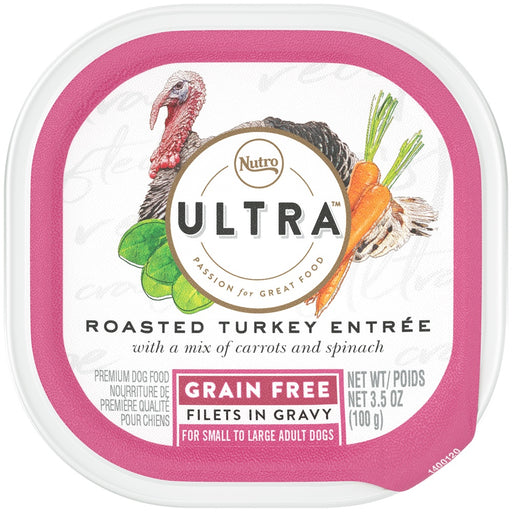 Nutro Ultra Grain Free Roasted Turkey Entree Filets in Gravy Wet Dog Food