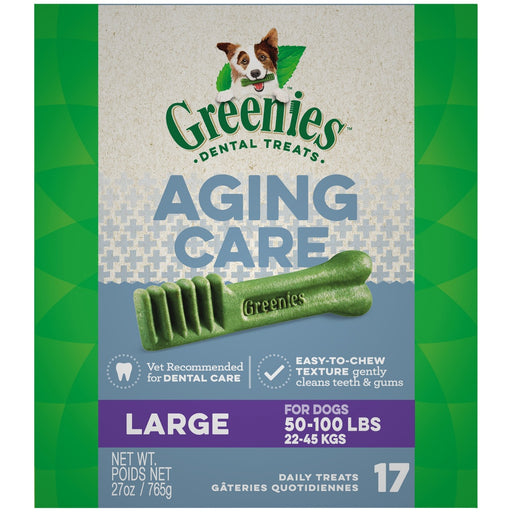 Greenies Aging Care Large Dental Care Dog Treats