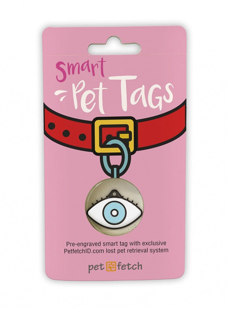 Pet Fetch Eye Spy Emoji Smart Pet Tag