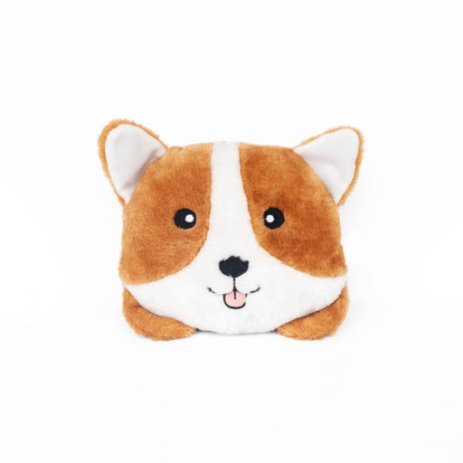 ZippyPaws Squeakie Buns Corgi Plush Dog Toy