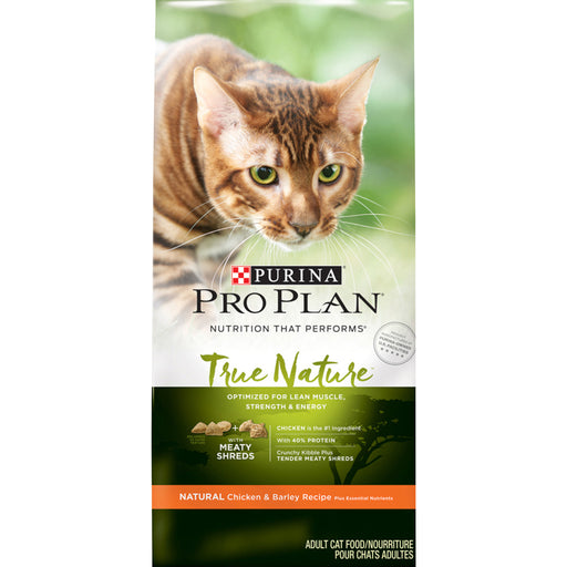 Purina Pro Plan True Nature Chicken & Barley Recipe Dry Cat Food